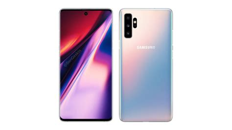 Samsung Galaxy Note 10 Glow by Samsung Galaxy Note 10 And Galaxy A90 Gets Spotted On Geekbench Goandroid