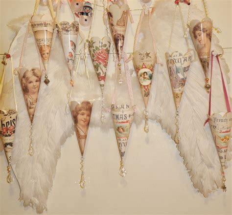 printable vintage christmas decorations 12 days of christmas cones day 1 free printables