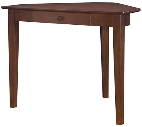 Unfinished Corner Desk Parawood Corner Shaker Desk Espresso Unfinished Furniture