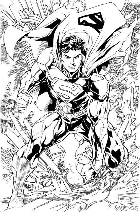 52 best images about adult coloring pages on pinterest superman new 52 by gammaknight on deviantart