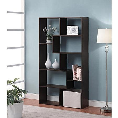 mainstays home 8 shelf bookcase espresso mainstays home 8 shelf bookcase multiple finishes