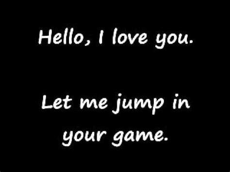 jim hello lyrics hello i you by the doors lyrics
