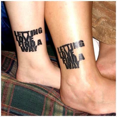 couple foot tattoos unique designs for couples couples tattoos ideas