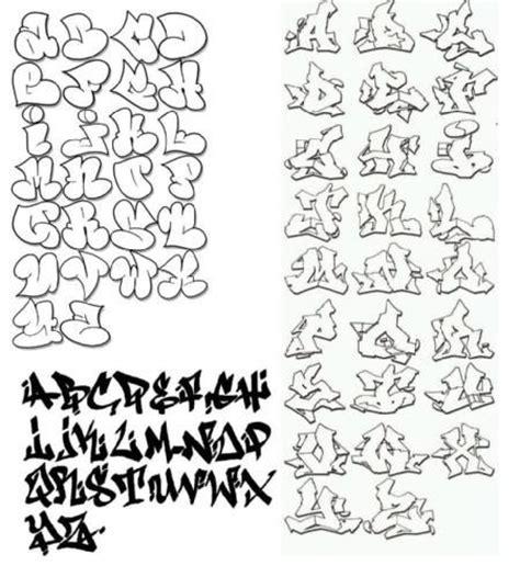 imagenes de letras de graffitis en bomba abecedario