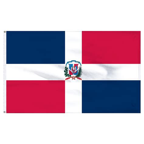 dominican republic dominican republic flag 3ft x 5ft nylon