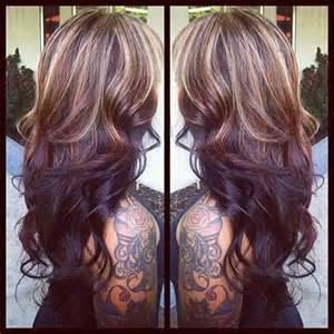 hair highlights bottom 27 hairstyles for long dark hair long hairstyles 2016 2017