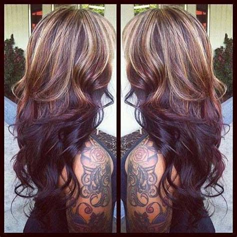 colour hair lighter on bottom 27 hairstyles for long dark hair long hairstyles 2016 2017