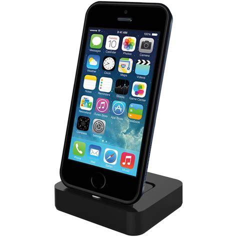 kidigi lightning cable dock stand apple iphone se 5s black