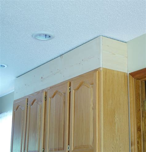 crown molding for kitchen cabinet tops diy painting laminate cabinets diy kitchen cabinet