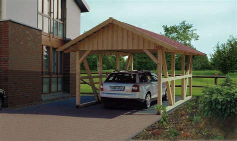 garage carport holz holz carport skanholz 171 schwarzwald einzelcarport mit dach
