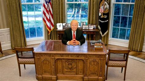 which of these 6 oval office desks will donald