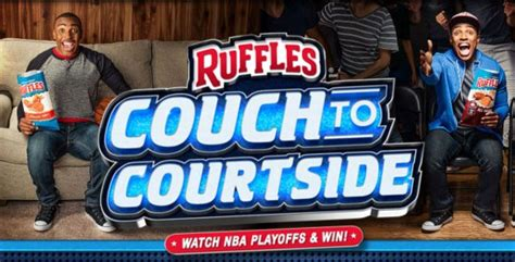 Nba Finals Sweepstakes - ruffles couch to courtside sweepstakes and contest