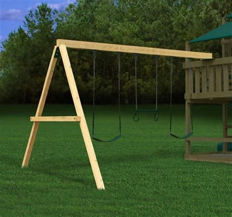 a frame brackets for swing sets swing beam a frame end bracket swingsetmall com