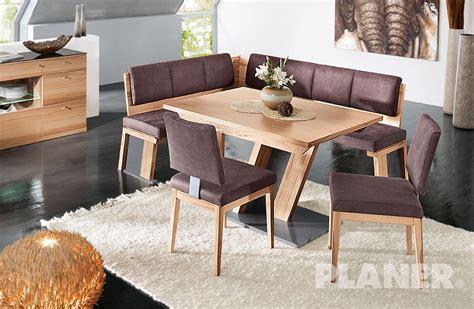 tavolo con panca ad angolo moderno gruppo in faggio massiccio laccato effetto cerato con