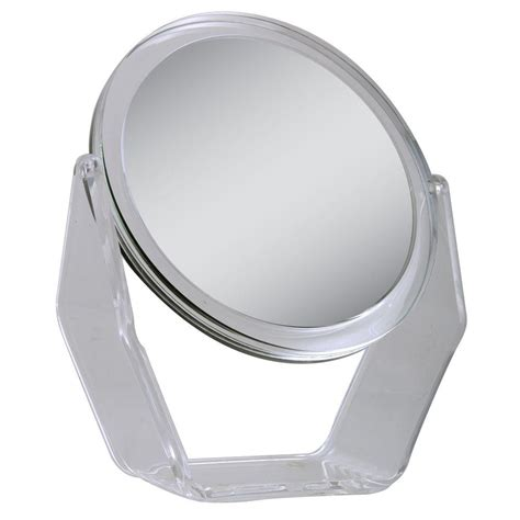 zadro 9 5 in x 15 5 in telescoping vanity mirror in zadro 9 5 in x 10 75 in 1x 5x magnification vanity