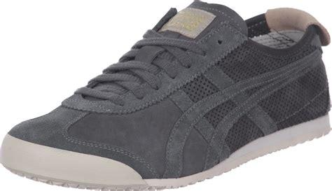 Sepatu Pria Asics Tiger Onitsuka Mexico 66 Grey Black onitsuka tiger mexico 66 shoes grey