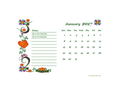 Calendar Design Templates Free 2017 Monthly Calendar Template Design Free Printable