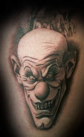 scary clown tattoos clown tattoos designs ideas and meaning tattoos for you