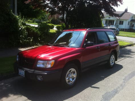red subaru forester 1998 subaru forester awd auto sales