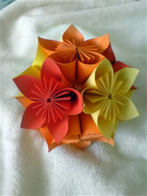 Large Origami Flowers - origami flower