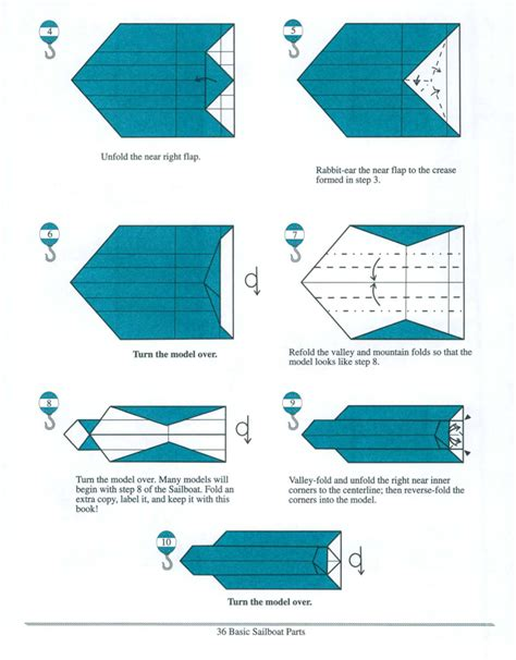 Functional Origami - origami sailboats lew rozelle macmillan