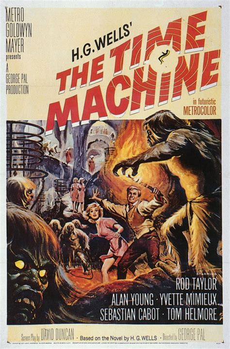 The Time Machine open the pod bay doors hal the time machine 1960