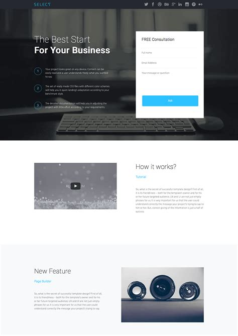best layout builder wordpress 15 best wordpress landing page themes made for conversions