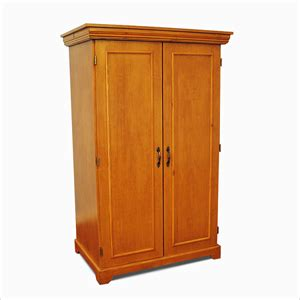 Two Door Closet Custom Made Closet Wardrobe Solid Wood Wardrobe Linen Closet 2 Doors Gcc3 Gh