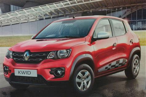 renault kwid specification renault kwid 1 0 price features specifications revealed