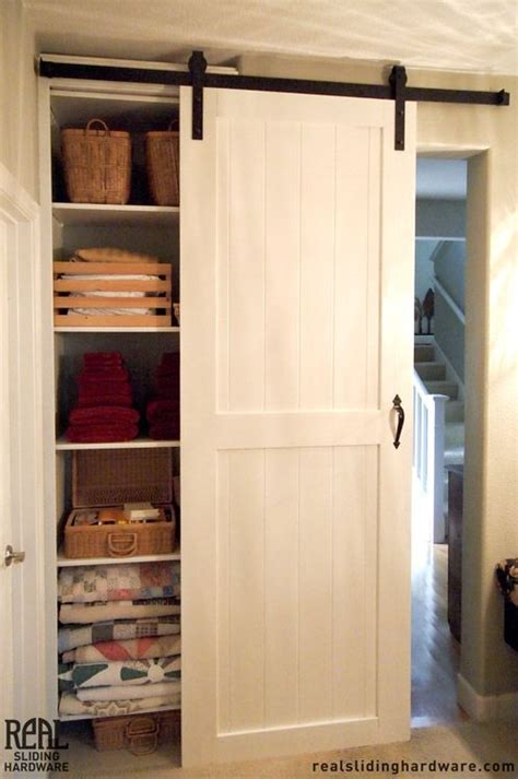 Barn Door Closets White Closet Sliding Barn Doors Decorating Ideas