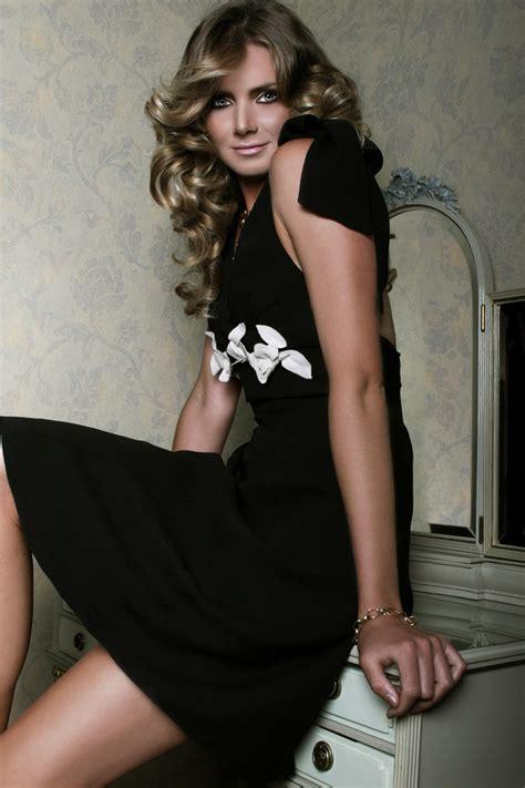 daniela hantuchova  black dress sheclickcom