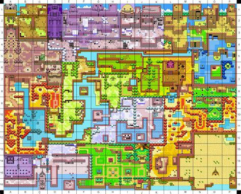 legend of zelda main map image holodrum coordinate map png zeldapedia the