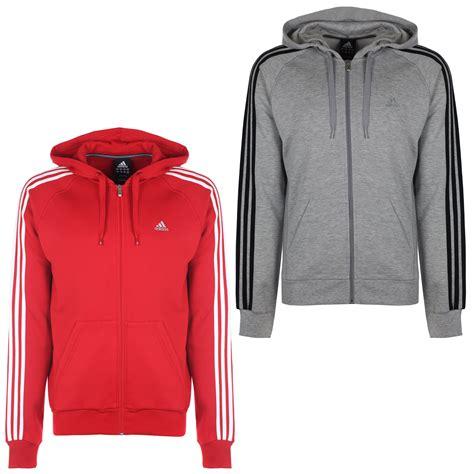 Adidas Essentials 3 Stripes Grey Original adidas performance essentials mens 3 stripe hoody hoodie hooded top grey 2xlt ebay