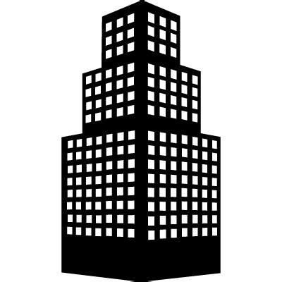 Chair Silhouette Stepped Building Tower Free Vectors Logos Icons And