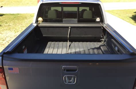 peragon bed cover honda ridgeline retractable truck bed covers by peragon