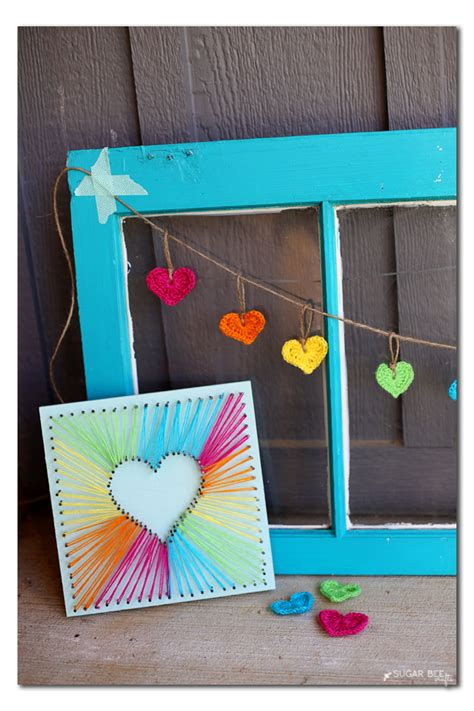 String Projects For - string sugar bee crafts