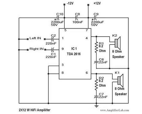 home theatre lifier circuit diagram wiring diagram