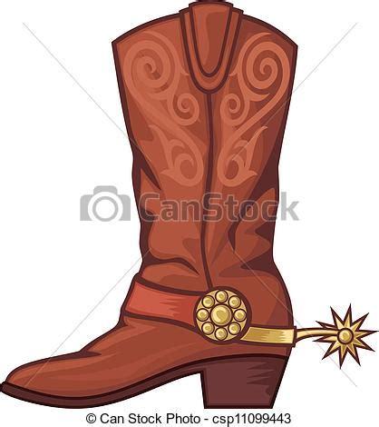imagenes de botas vaqueras en caricatura eps vector of cowboy boot csp11099443 search clip art
