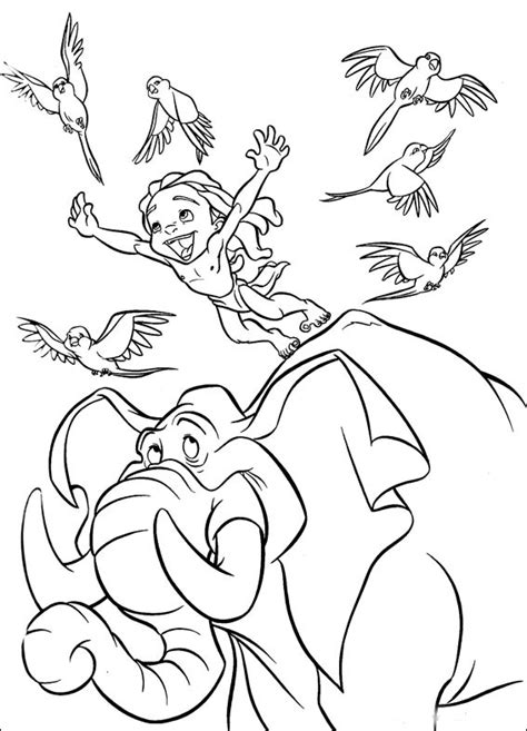 disney coloring pages tarzan tarzan coloring pages best coloring pages for kids