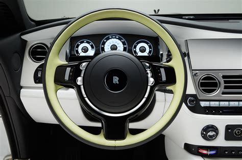 rolls royce steering wheel rolls royce debuts quot wraith inspired by fashion quot