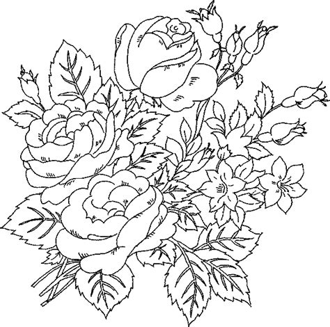 Coloring Pages Flower Coloring Pages Pretty Flower Coloring Pages
