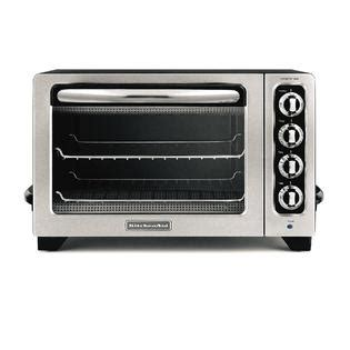 Kitchenaid Countertop Oven Parts kitchenaid kco222ob 12 quot stainless steel toaster oven