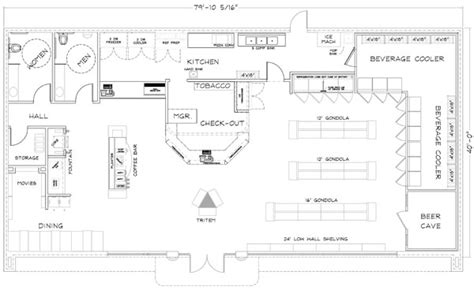 floor plan of a store convenience store design consultants jaycomp