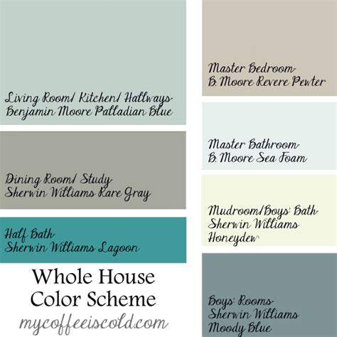 whole house color schemes interior design ideas home bunch interior design ideas
