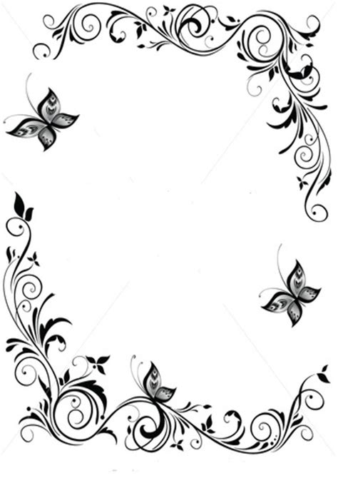 pattern border black and white black and white borders clipartion com