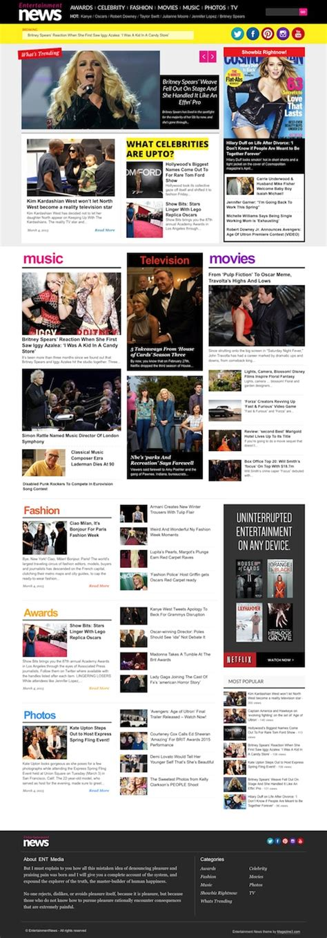 newspaper theme gallery 40 best magazine wordpress themes 2017