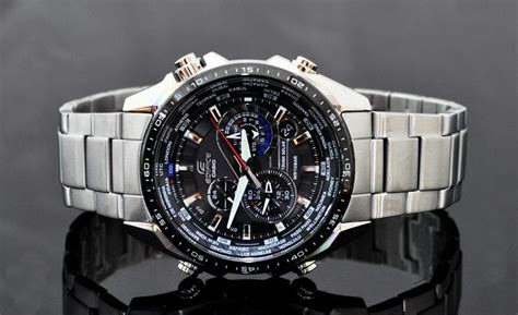 Jam Casio Mtp 1374d casio men s eqs500db 1a1 edifice tough solar stainless