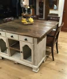Rustic Kitchen Island Ideas 17 Best Ideas About Rustic Kitchen Island On Pinterest