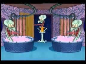 squidward screaming in the bathtub squidward drops in squidward house