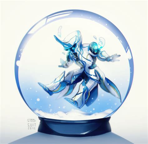 snow globe with fan tiny frost by steelsuit on deviantart